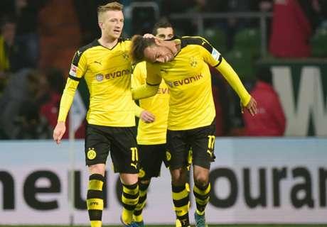 Dortmund rest Reus & Aubameyang