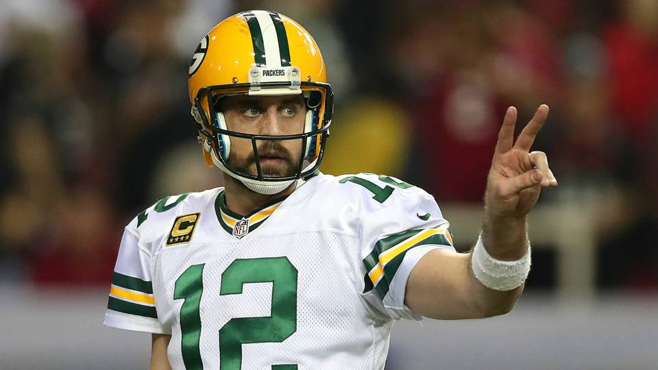 Aaron Rodgers 082817 USNews Getty FTR