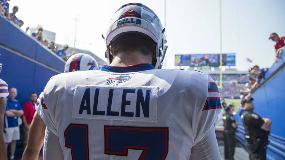 NFL rookie recap: Josh Allen struggles in loss to Bengals