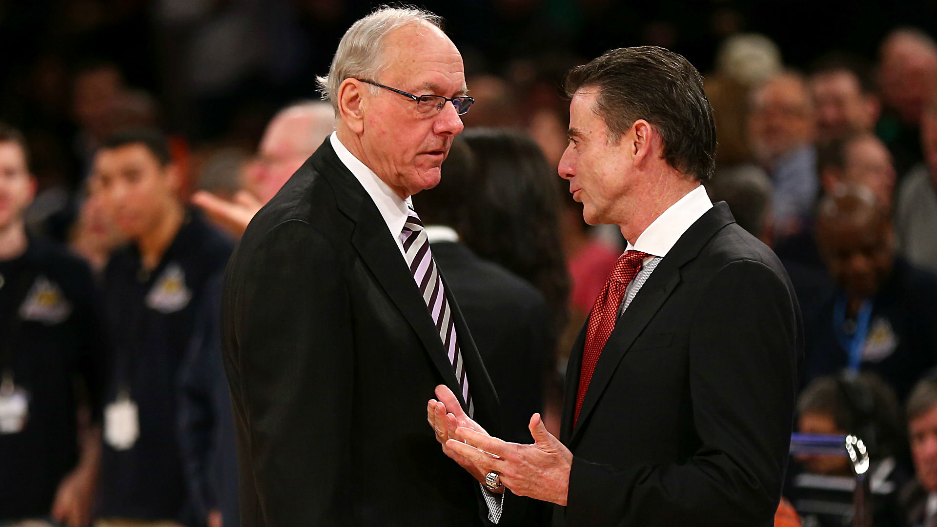 Jim Boeheim and Rick Pitino