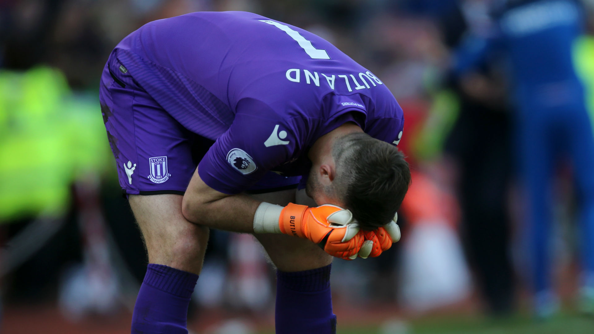 Butland blames 'farcical' signings for Stoke's relegation