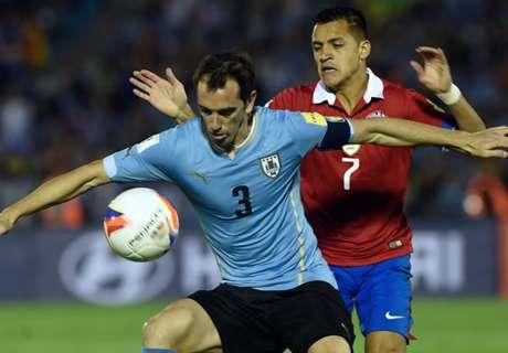 Uruguay 3-0 Chile: Godin gets revenge