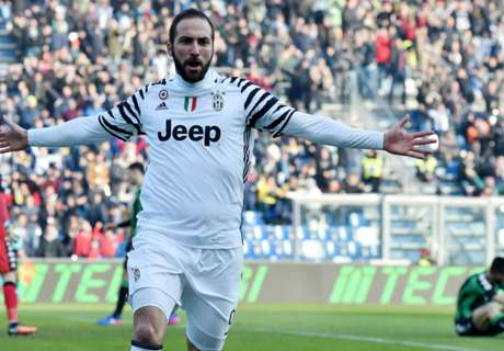 Higuain salutes Allegri's 'courage'