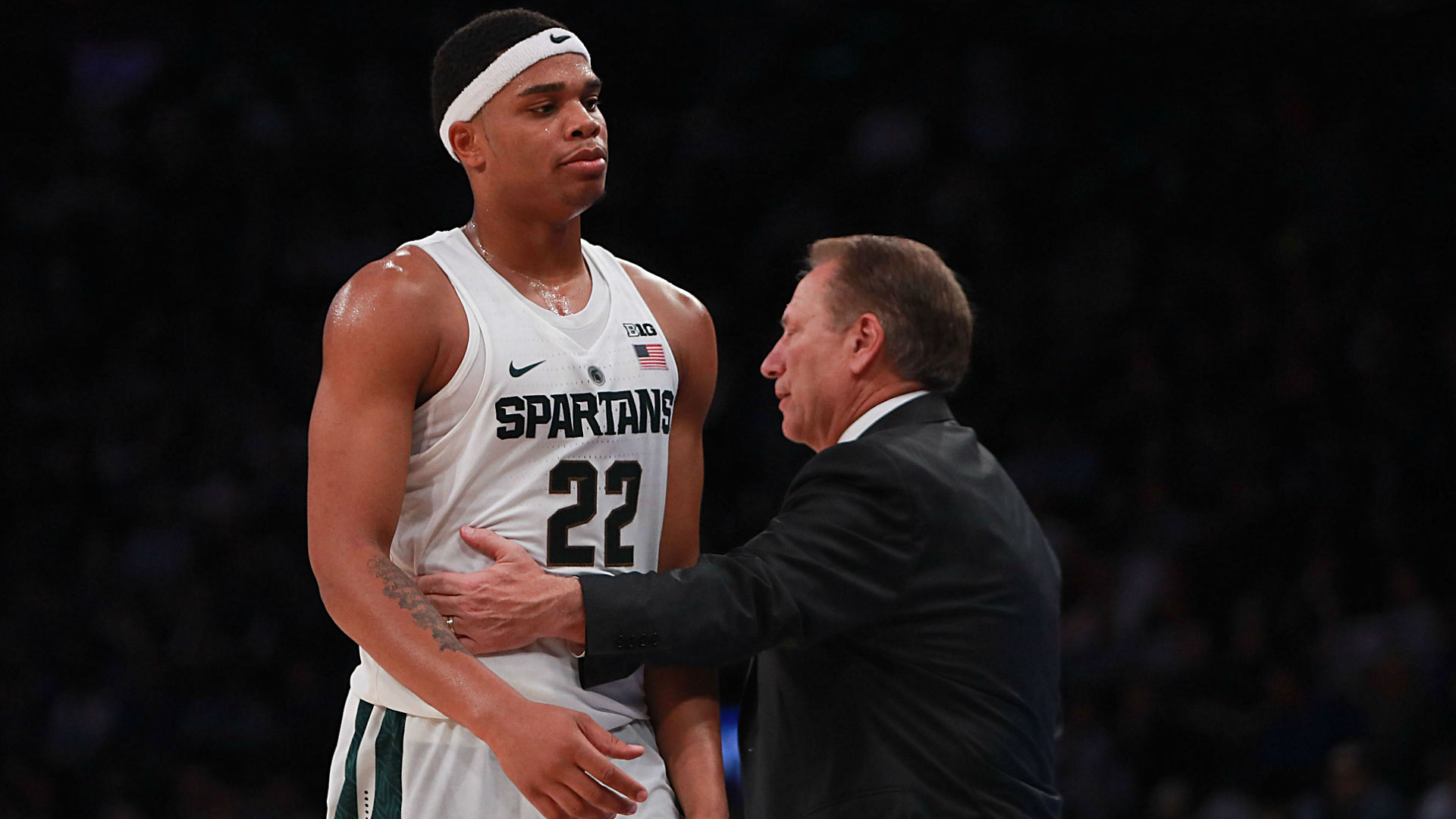 McQuaid Scores 20, Michigan State Beats DePaul, 73-51