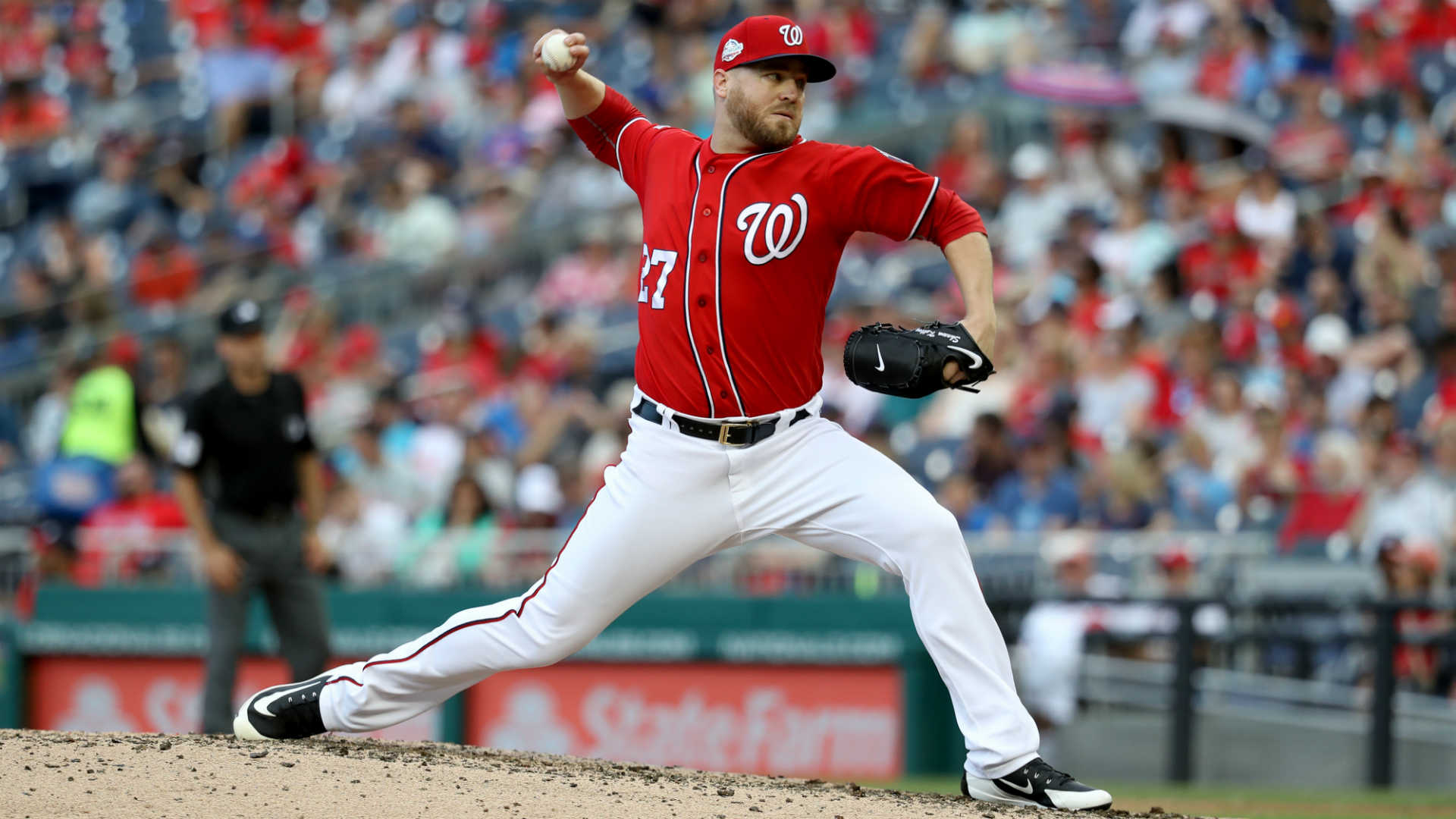 MLB trade rumors: Nationals sending reliever Shawn Kelley to Athletics