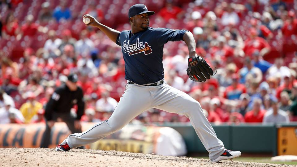 Arodys Vizcaino injury update: Braves place closer on DL with right shoulder inflammation