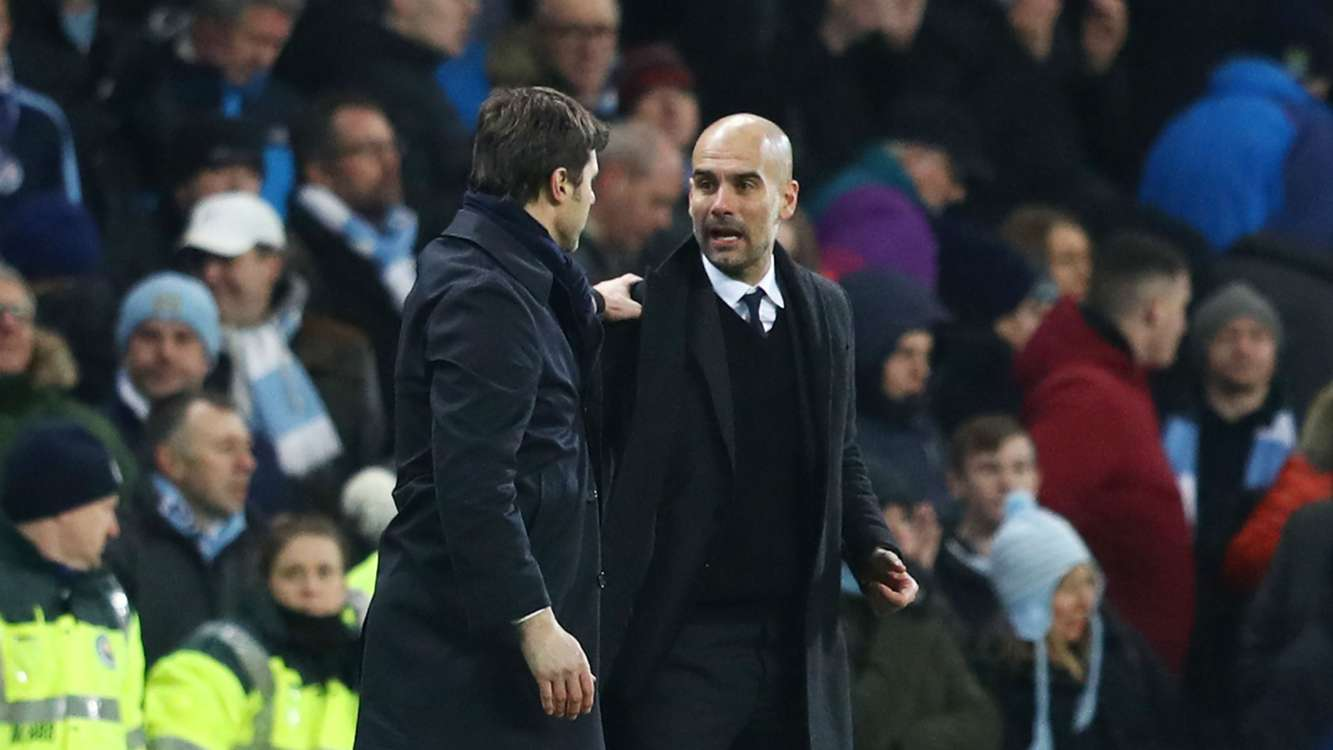 I never called Barca the Messi team - Pochettino slams Guardiola's Kane comments