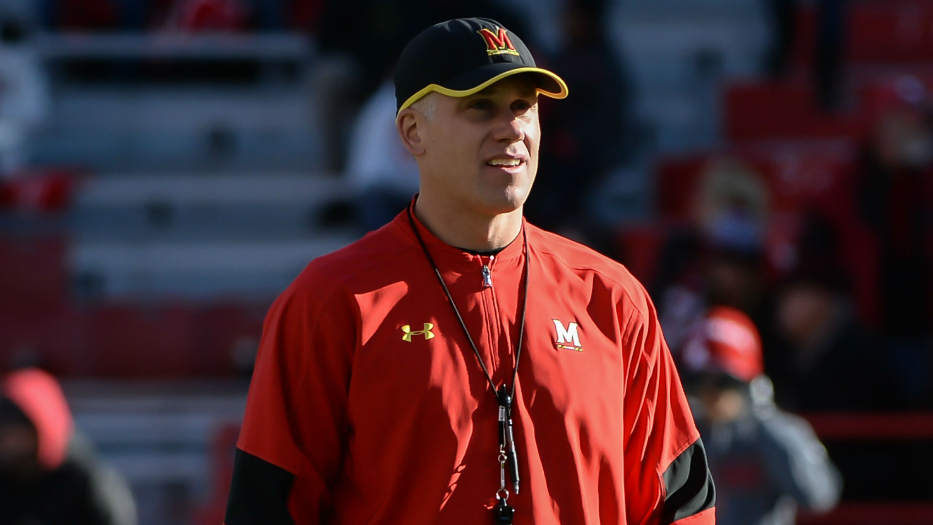 UMD football coach placed on leave following abuse allegations