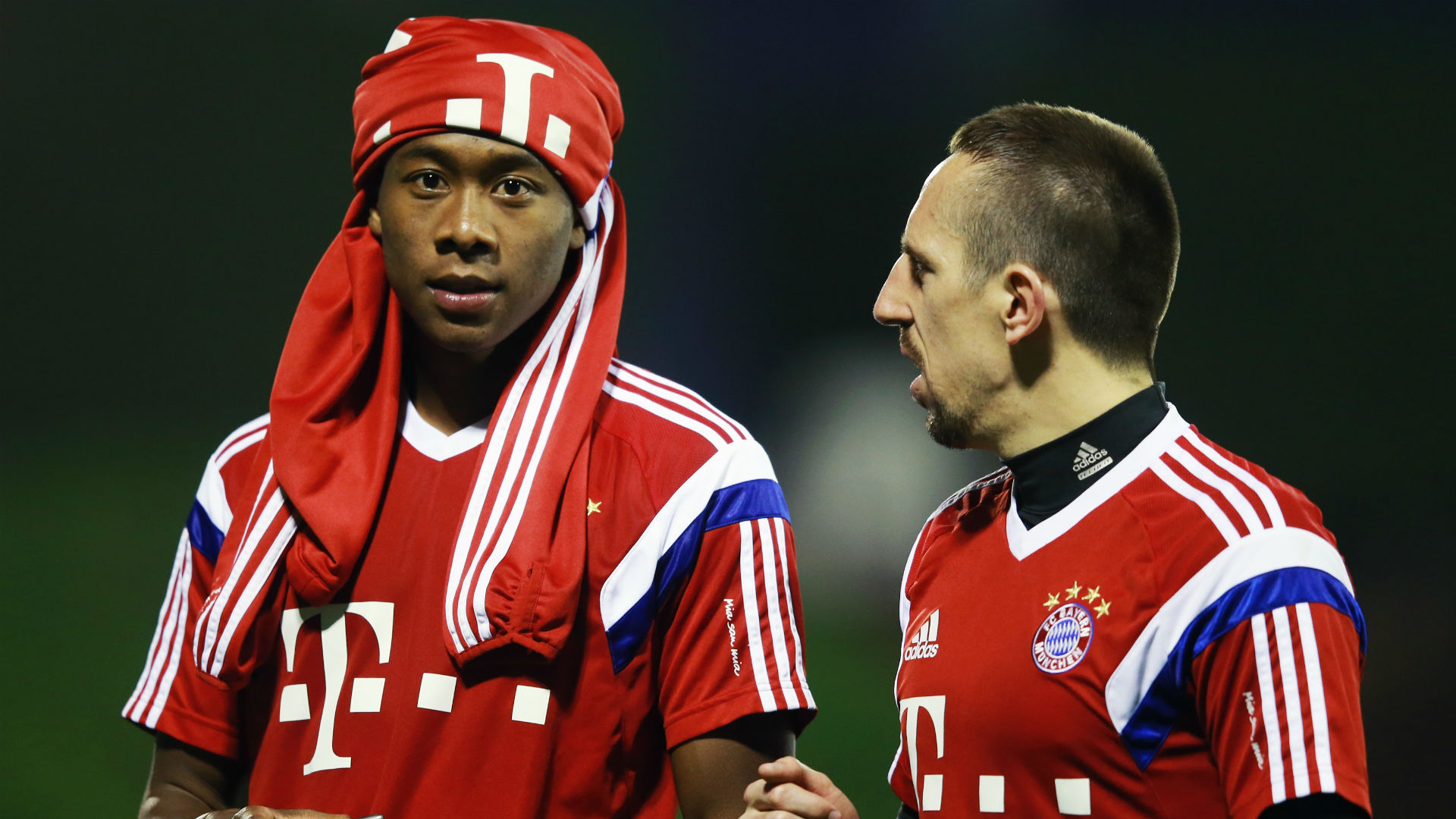 ... and Rafinha look set to provide Bayern Munich with a boost   SPORTAL