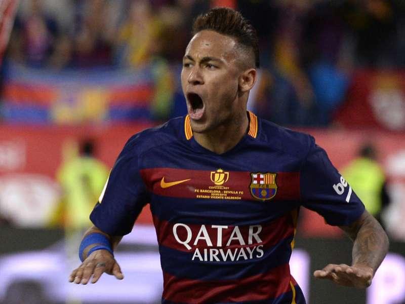 Barca star Neymar inspired by Michael Jordan