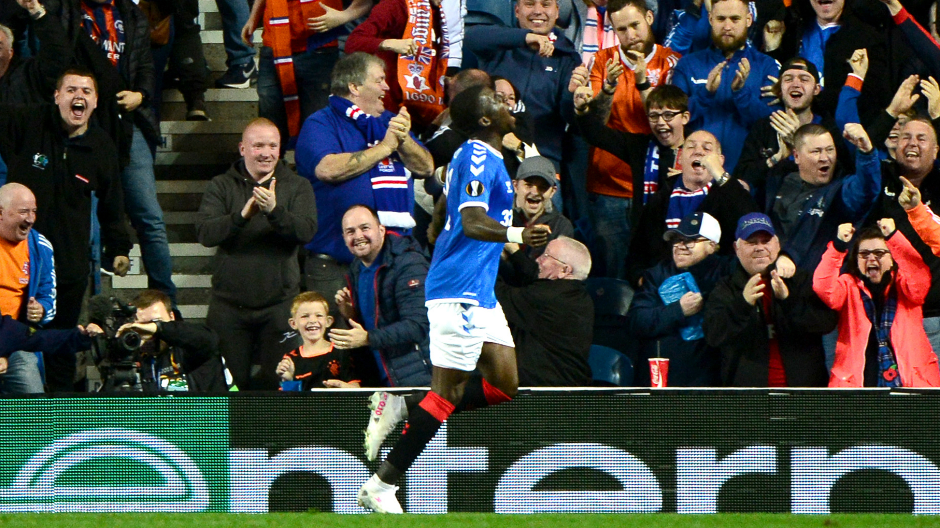 Rangers 1-0 Feyenoord: Ojo's super strike seals fitting tribute to Ricksen