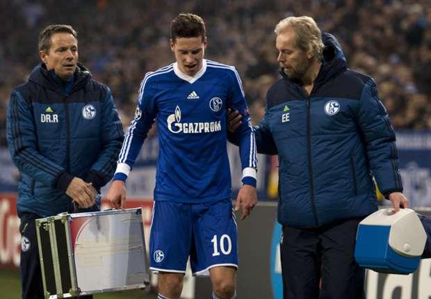 Gegen Basel verletzt, aber bald wieder im Training: Julian Draxler