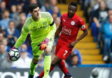 Courtois calms eye injury fears