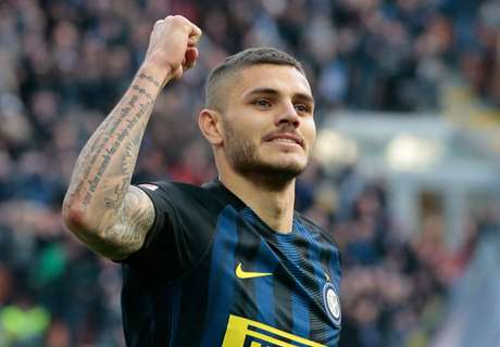 Icardi targets top three after rout
