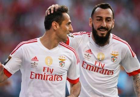 Benfica romp to Taca da Liga win