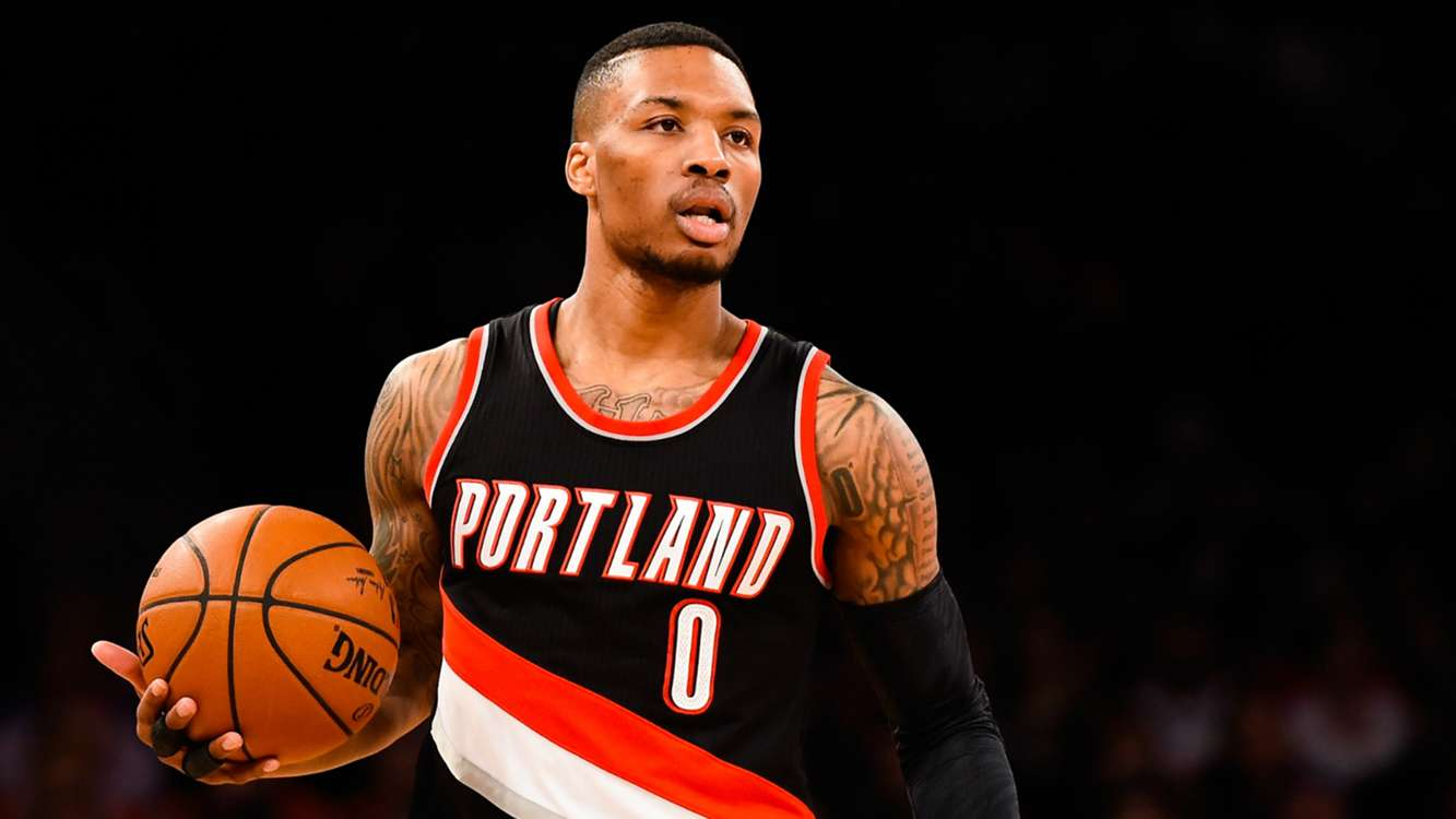 Damian Lillard accuses D'Angelo Russell of playing dirty: 'He poked the bear'