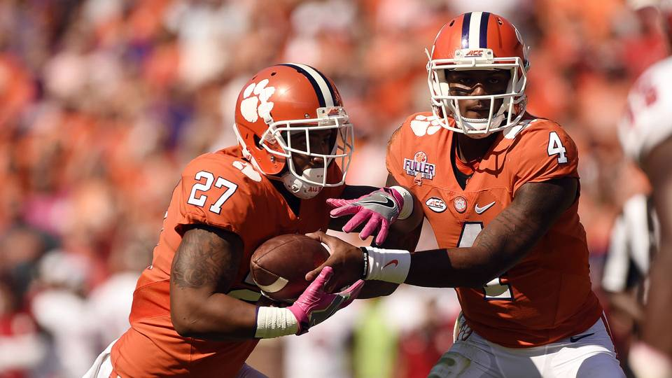 Former Clemson football players CJ Fuller and Jadar Johnson were arrested on armed robbery charges by police on Wednesday March 28 2018