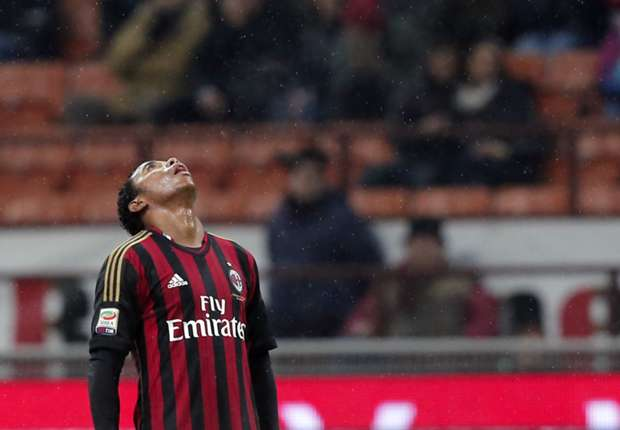 AC Milan attacker Robinho set to miss Atletico clash