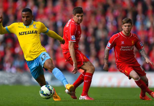 Jason Puncheon and Steven Gerrard