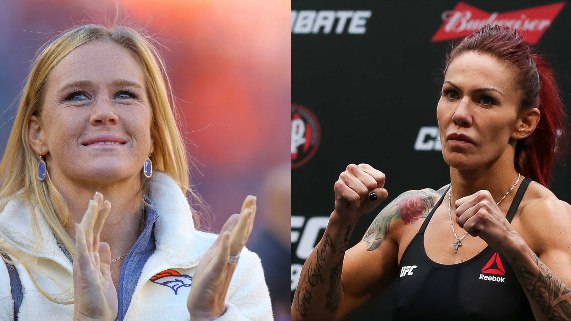Cris 'Cyborg' Justino and Holly Holm will fight for UFC featherweight title