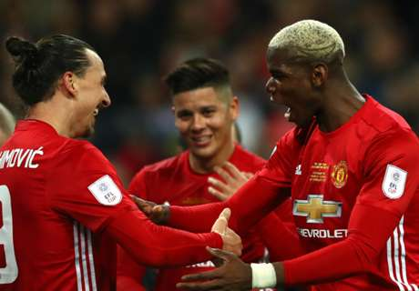 Zlatan and Pogba fit to face Newcastle