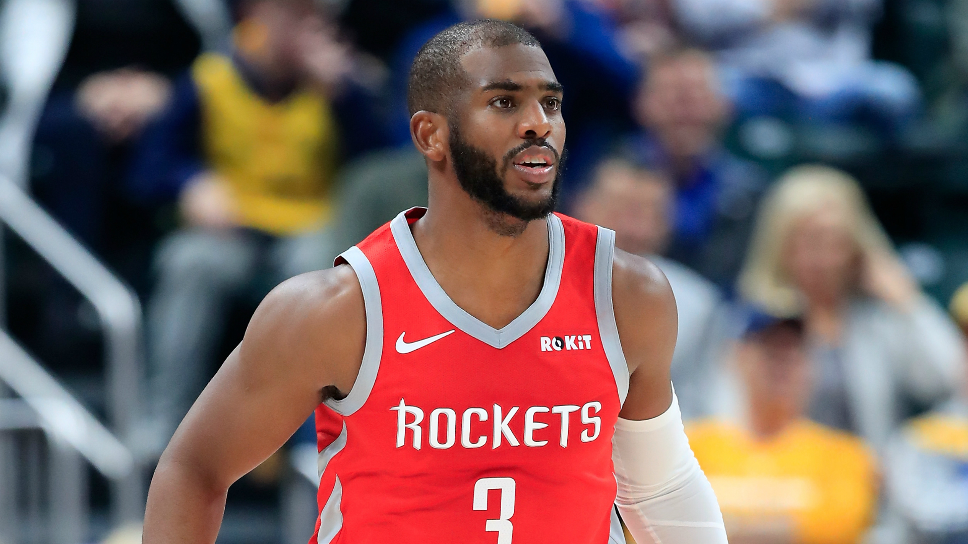 Rockets' Paul out at least 2 weeks with hamstring injury