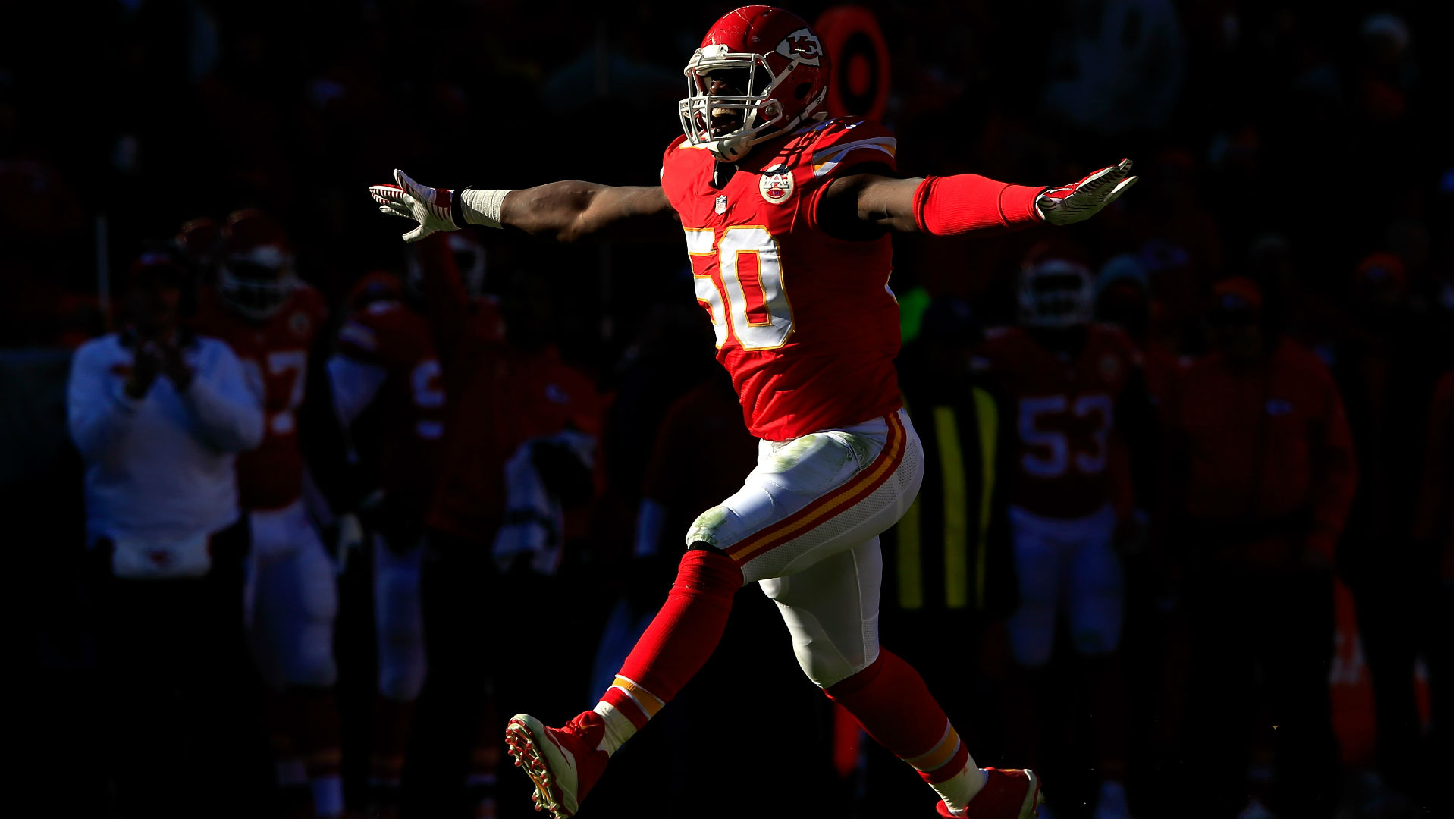 Chiefs LB Justin Houston says Andy Reid pushed him to be $101