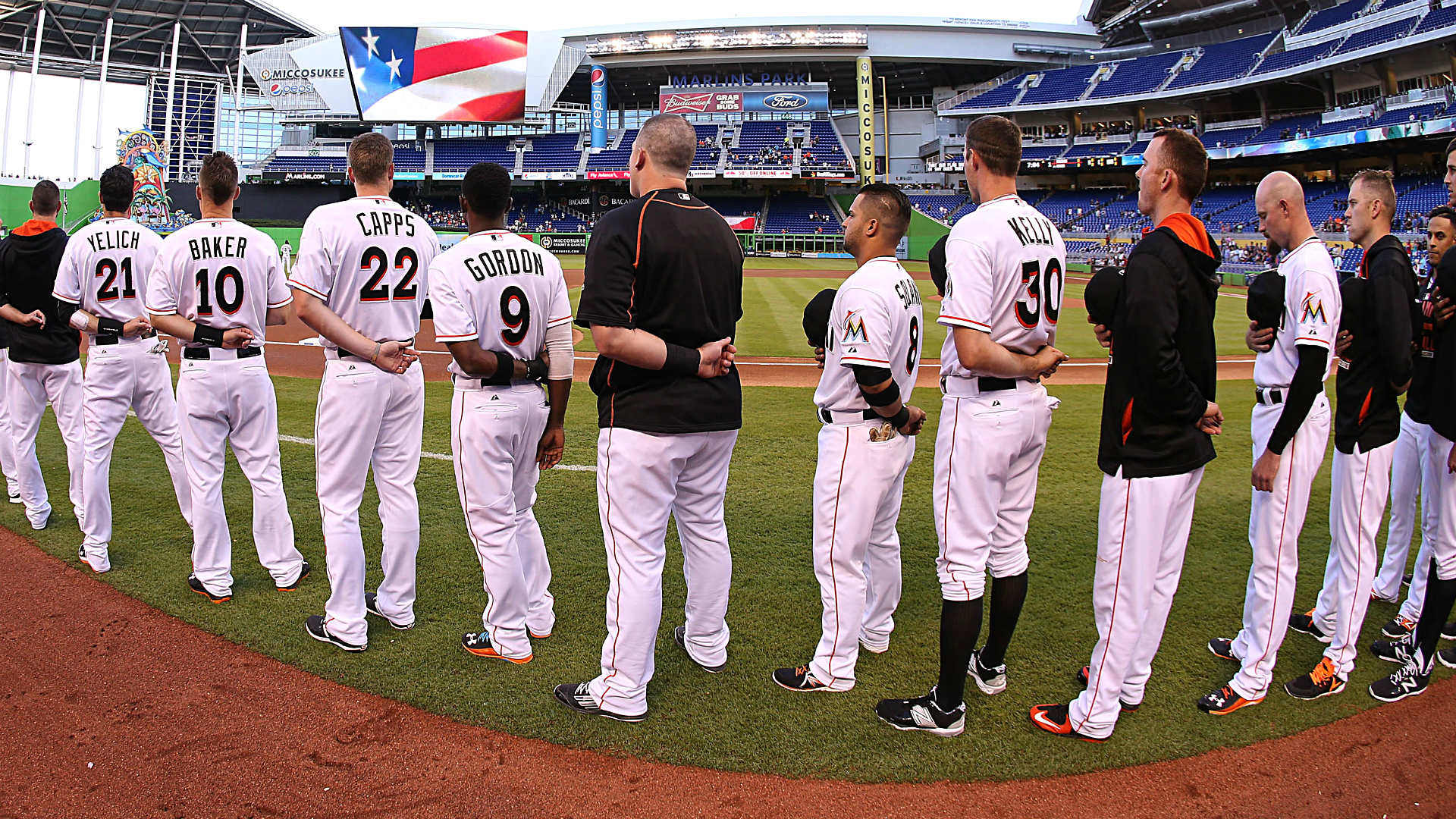 Frustrated Marlins players skip out on charity event