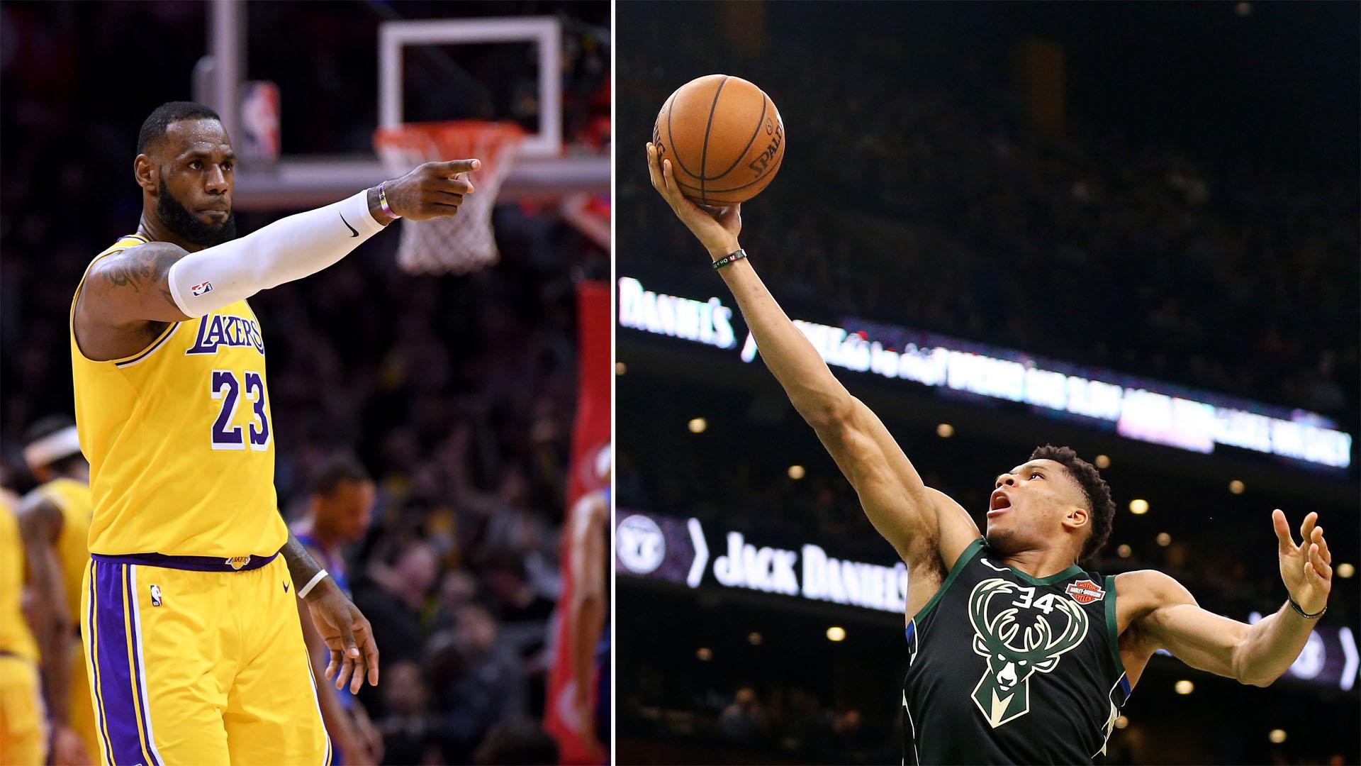 NBA All-Star 2019: Team LeBron vs. Team Giannis by the ...