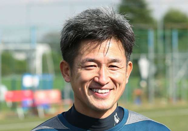Japanese striker Miura signs deal to play beyond 50th birthday