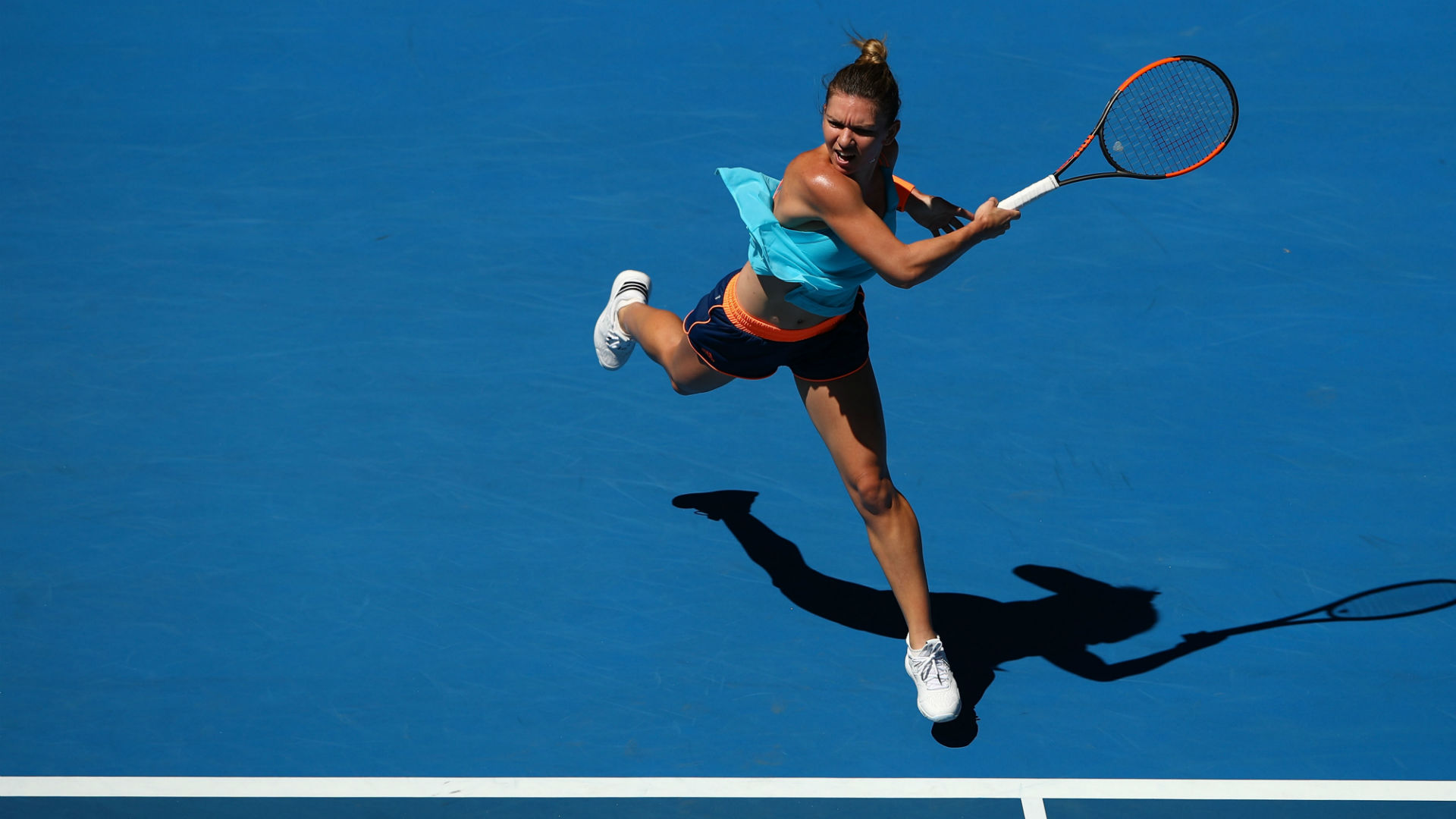 Simona Halep Faces Wild Card in Australian Open First Round