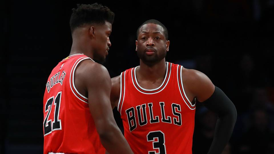 4d4025c48e36 NBA trade rumors  Jimmy Butler s future could lead to a new team for Dwyane  Wade
