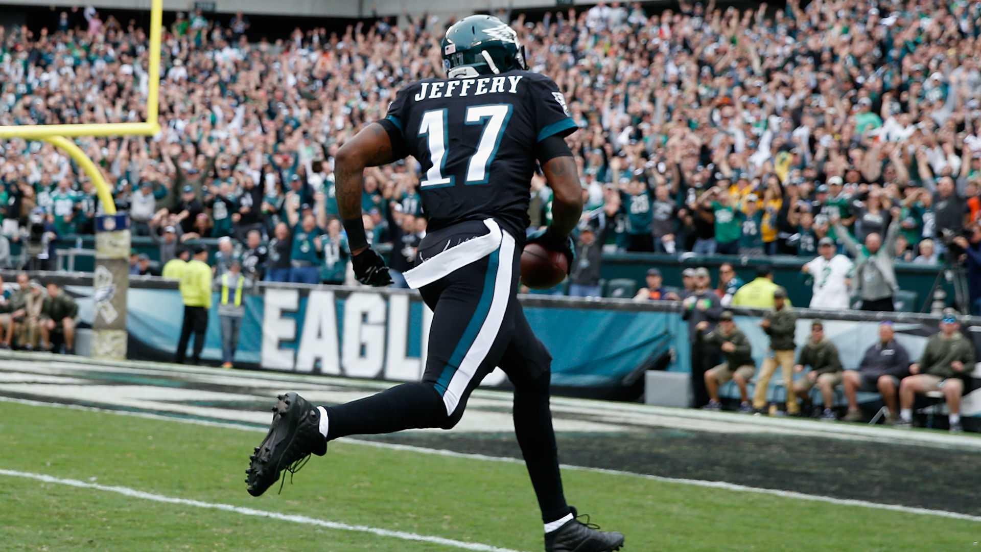 Eagles sign WR Alshon Jeffery to 4-year, $52 million contract extension