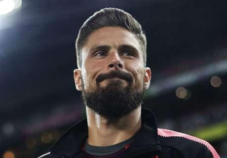 Uncertain Arsenal future for Giroud