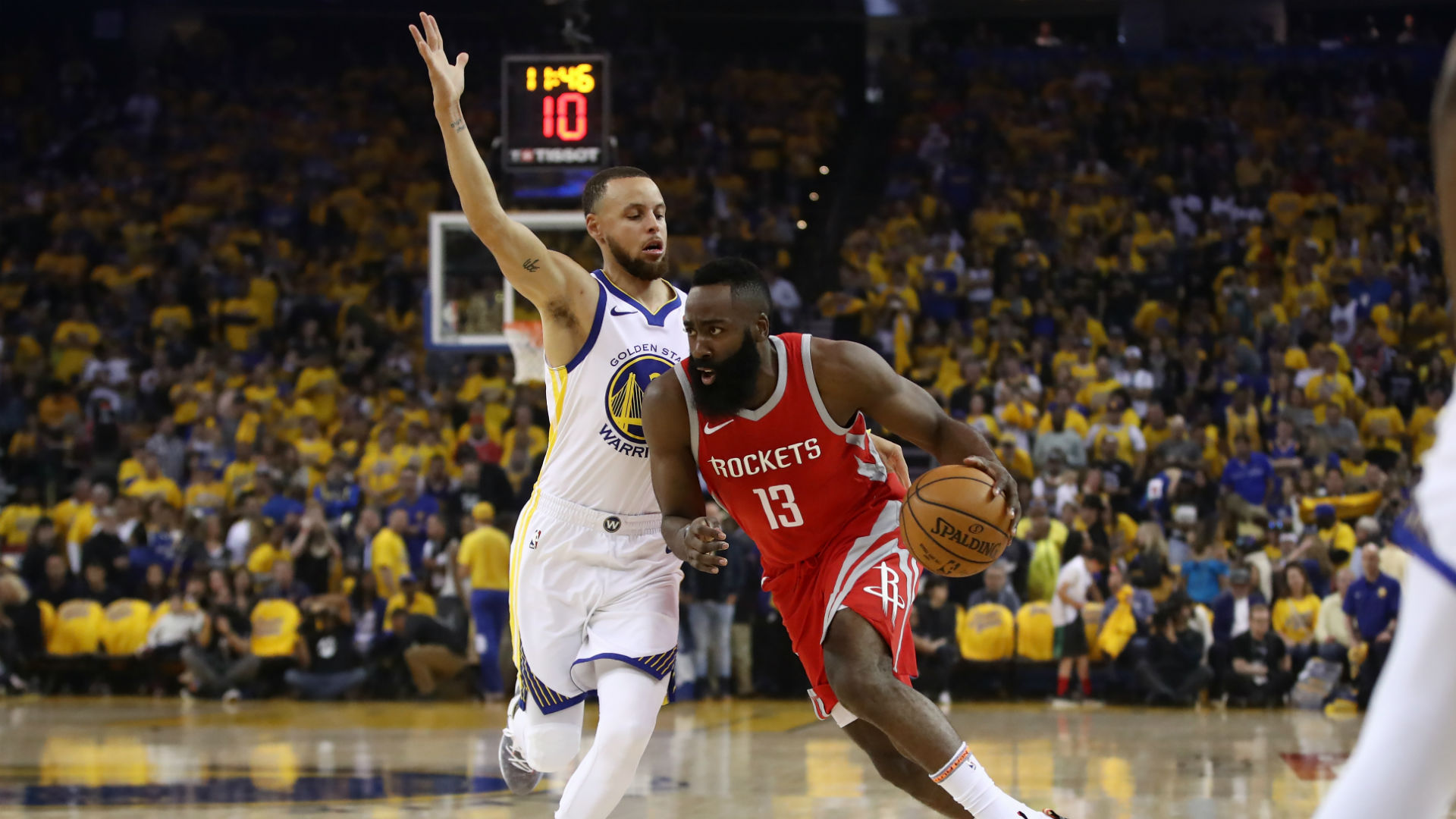 Warriors Breeze Past Rockets in Game Three