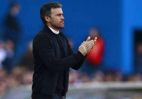 Luis Enrique happy to beat 'rival'