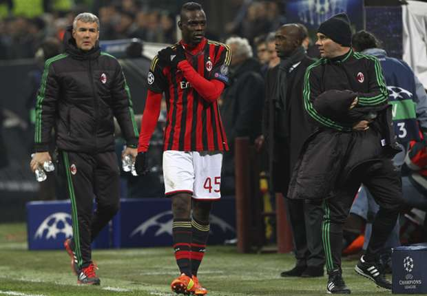 Milan ace Balotelli ruled out of Juventus clash