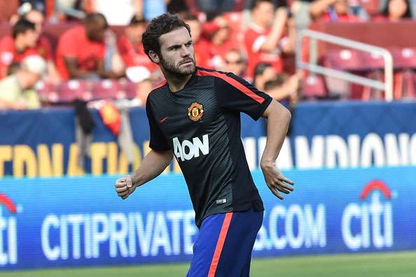 Mata relishing hard work under Van Gaal