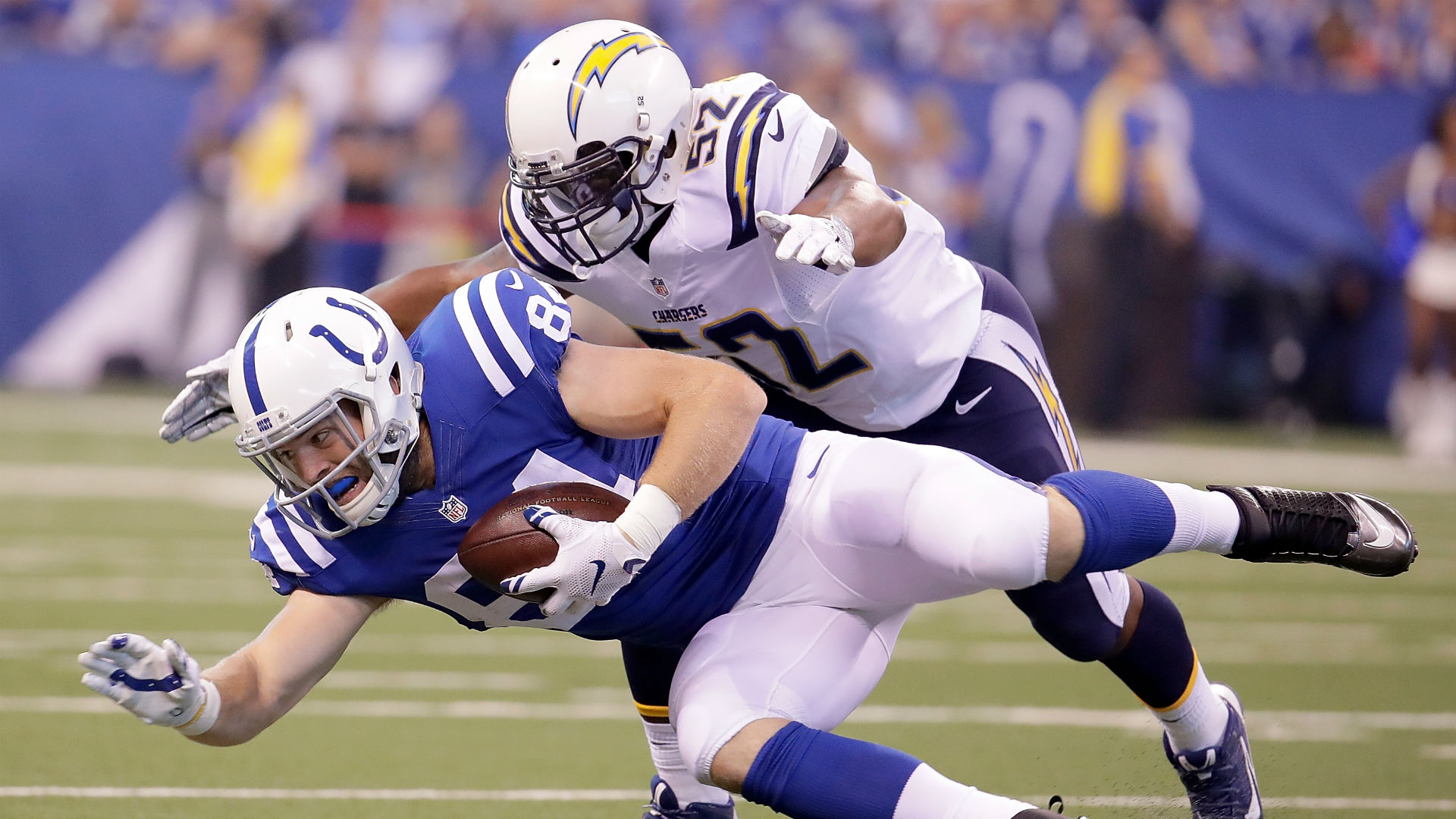 Chargers MLB Denzel Perryman likely out 2 months from ankle surgery
