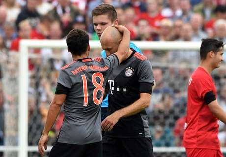 Robben out for six weeks