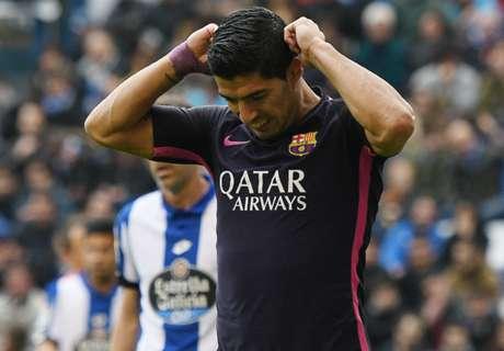 Suarez will not blame PSG exploits