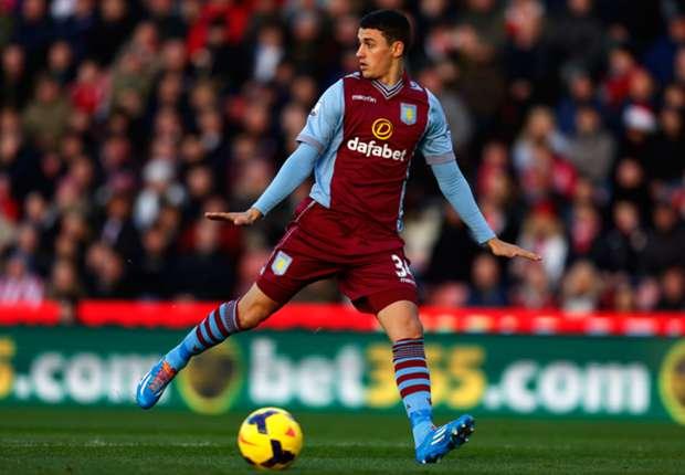 Aston Villa boss Lambert denies Lowton rift