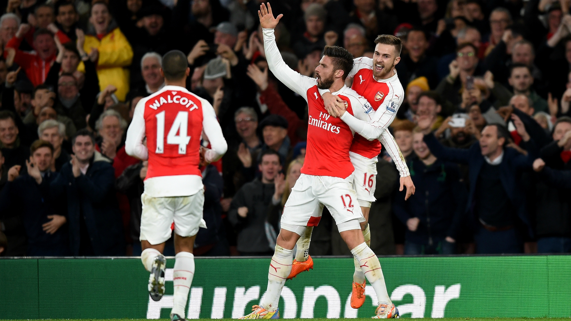 Arsenal Manchester City - cropped