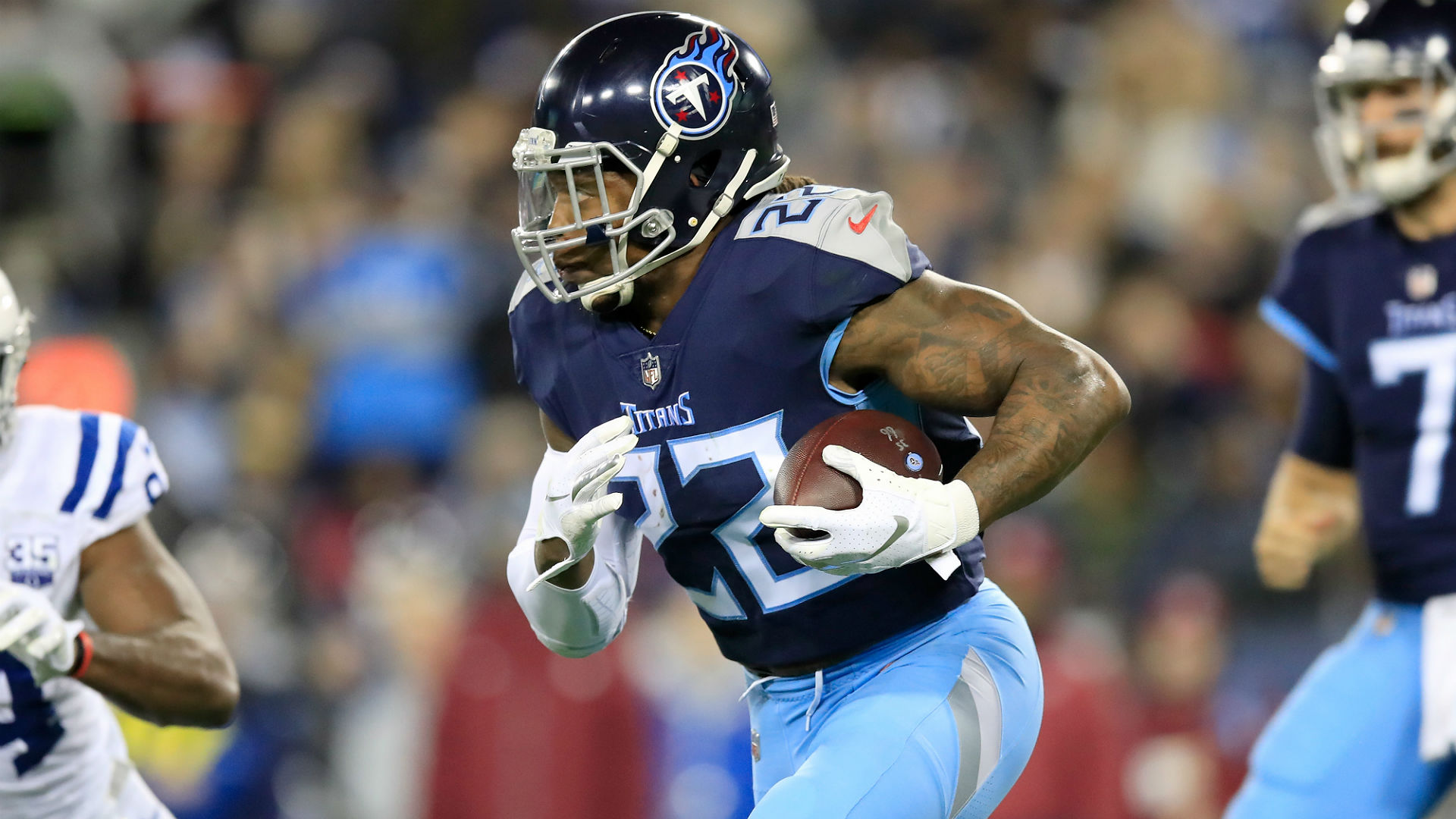 Derrick Henry injury update: Titans running back (calf) returns to practice after long absence