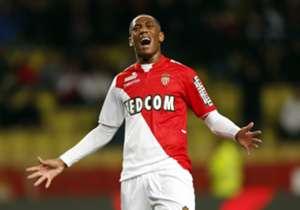 Monaco striker Anthony Martial