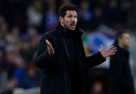 Atletico losing ground – Simeone