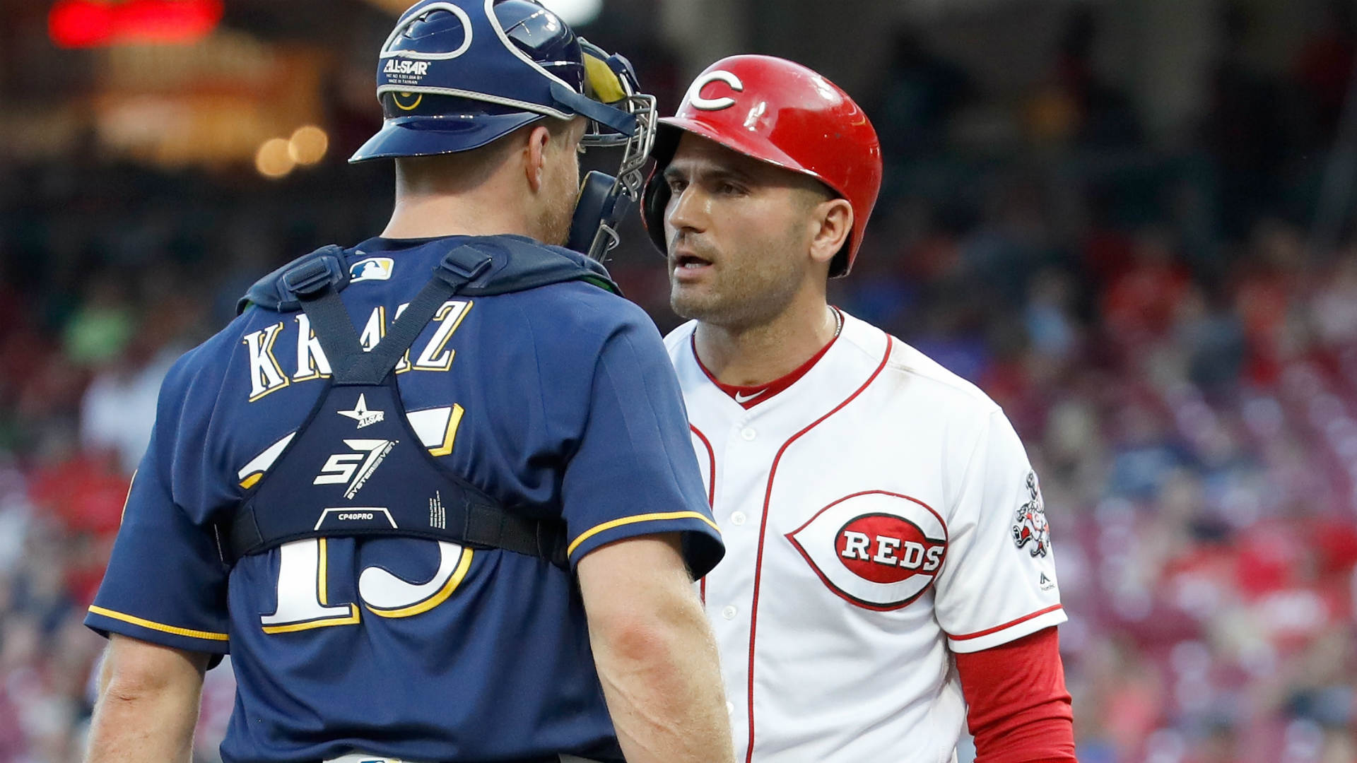 Reds-Brewers scrum just a 'misunderstanding,' says Joey ...