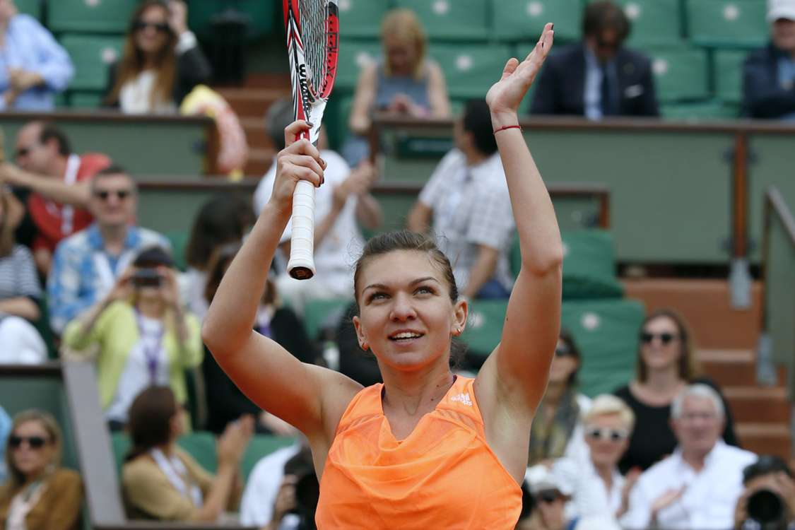 Halep, Errani secure quarter-final berths