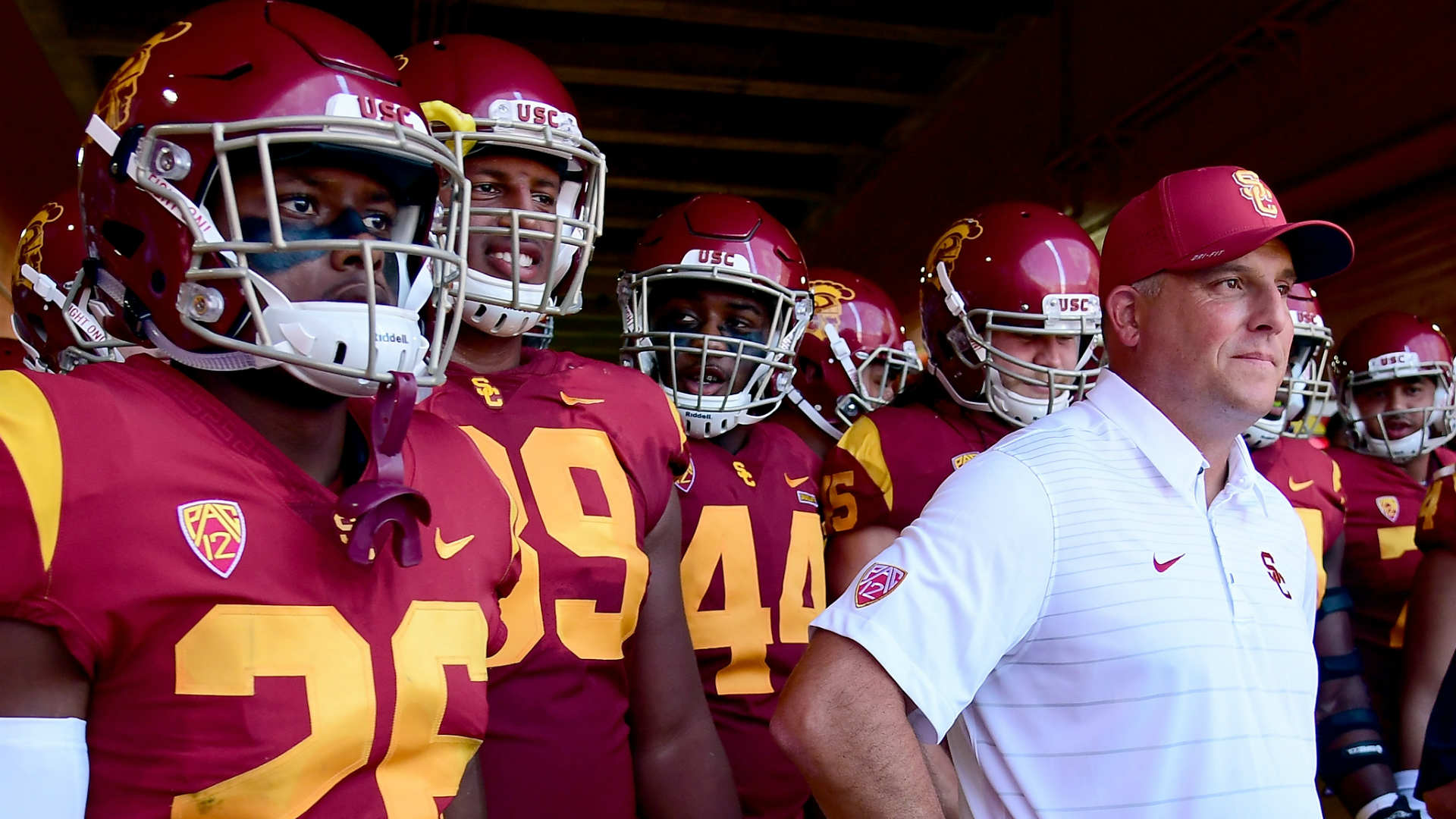 USC's Jake Olson snaps for PAT: 'Something I'll remember forever'