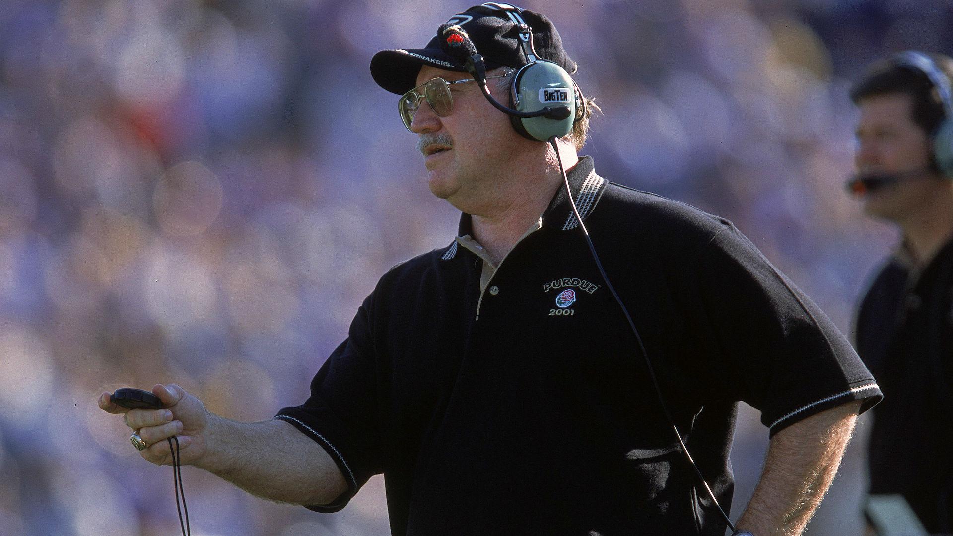 Joe Tiller, all-time winningest coach at Purdue, dies at 74